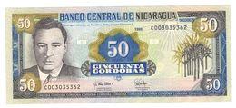 Nicaragua 50 Cordobas 1995, P-183, UNC. - Nicaragua