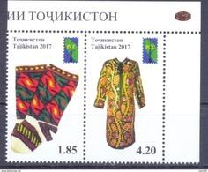 2017. Tajikistan, RCC, Folk Crafts Of Tajikistan, 2v Perforated, Mint/** - Tadschikistan