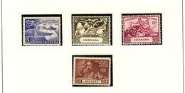 GRENADA - UPU 1949  #147 - 150  MNH - Grenada (...-1974)