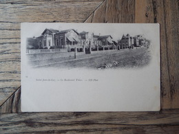 Saint Jean De Luz - Le Boulevard Thiers - (2711) - Saint Jean De Luz