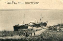 CONGO BELGE(BATEAU A VAPEUR) - Congo Belga - Otros