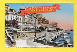 CPSM MONTE CARLO Un Coin Du Port Et Les Hôtels - Monte-Carlo