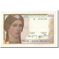 France, 300 Francs, SUP+, Fayette:29.1, KM:87a - 1871-1952 Antiguos Francos Circulantes En El XX Siglo
