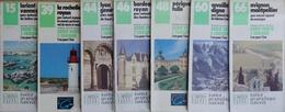 Carte Routière IGN Série Verte - Lot De 7 Cartes N° 15, 39, 44, 46, 48, 60, 66 Au 1/100.000e - Cartes Routières