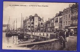 LE CROISIC Port Animé (Très Très Bon état) --610) - Le Croisic