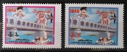 I20 - Iraq 1994 SG 1969-1970 Complete Set 2v. MNH - Saddam Al Qaid Bridge - Iraq
