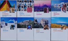 Miniguide  - Lot De 8 Guides Touristique Méditerranée: Santorin, Mykonos, La Valette, Lesbos, Ephèse, Istambul... - Dépliants Touristiques