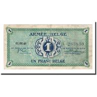 Billet, Belgique, 1 Franc, 1946, 1946-08-01, KM:M1a, TB+ - [ 4] Belgian Occupation Of Germany
