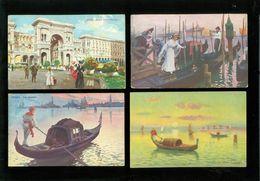 Beau Lot De 60 Cartes Postales D' Italie  Italia   Mooi Lot Van 60 Postkaarten Van Italië - 60 Scans - Postcards