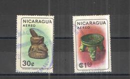 Nicaragua PA+PO 1965 Manufatti     Scott. C568+573+  Used See Scans On Scott.Album+ - Nicaragua