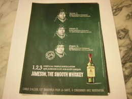 PUBLICITE AFFICHE WHISKEY JAMESON - Alcohols