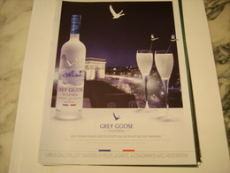 PUBLICITE AFFICHE VODKA GREY GOOSE - Alcohols