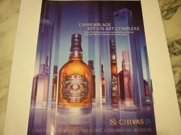 PUBLICITE AFFICHE WHISKEY CHIVAS REGAL - Alcohols