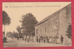 La Conserverie Vers Champion - Maison Joseph Remacle-Toussaint ... Belle Animation ( Voir Verso ) - Tenneville