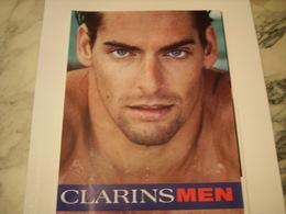 PUBLICITE AFFICHE CREME CLARINS - Perfume & Beauty