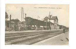 70 -- CHAMPAGNEY -- LA GARE - France