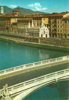 Pisa (Toscana) Veduta Fiume Arno E S. Maria Della Spina, View Of The Arno River And The Church St. Maria Della Spina - Pisa