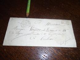 24/06/1844 - PYR/ORIENTALES !!!!! OBL/ De MONT LOUIS  Avec (Port Payé) Pour TOULOUSE ++courrier ++4 Photos - Poststempel (Briefe)