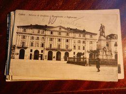 15085) CUNEO PALAZZO DI GIUSTIZIA E MONUMENTO A BARBAROUX VIAGGIATA 1931 - Cuneo