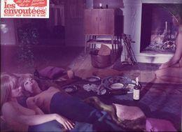 2 Photographies D'exploitation Film érotique  Les énvoûtées 1970 - Photographs