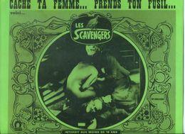 10 Photographies D'exploitation Western  érotique  Cache Ta Femme Prend Ton Fusil Voici Les Scavengers 1969 - Photographs