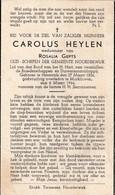 Herentals,Noorderwijk, Morkhoven,1944, Carolus Heylen,Gepts - Images Religieuses