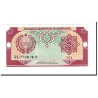 Billet, Uzbekistan, 3 Sum, 1994, KM:74, SPL+ - Ouzbékistan