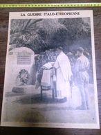 ANNEES 20/30 GUERRE ITALO ETHIOPIENNE CAMP ITALIEN - Colecciones