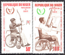 NIGER - Année Internationale Des Personnes Handicapées - Níger (1960-...)