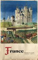 Saumur 49 - Affiche Draeger Chateaux De La Loire Pour Le Ministère Des Travaux Publics - Affiches