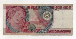 """Italia - Banconota Da Lire 100.000 """" Botticelli """" - Decreto 20.06.1978 - (FDC8371) - [ 2] 1946-… : Républic"""