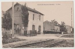 CPA WAVILLE La Gare - Autres Communes