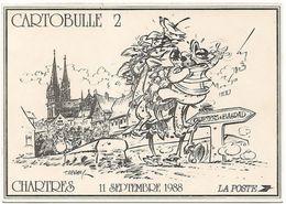 Illustrateur TABARY - Salon CARTOBULLE 1988 CHARTRES - Bourses & Salons De Collections