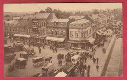 Hannut  - Coin De La Grand'Place .... Kermesse , Marché ??? - 1936 ( Voir Verso ) - Hannut