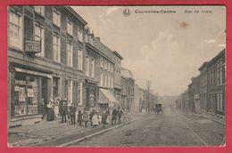 Courcelles - Rue Du Trieu ( Voir Verso ) - Courcelles