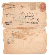 Aangetekend TEGAL>TILBURG 1897 - Niederländisch-Indien