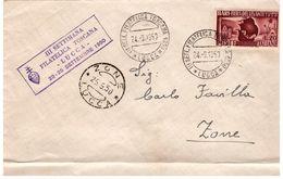Busta Affrancata Con FIERA DEL LEVANTE (1950) - 1946-60: Marcofilia