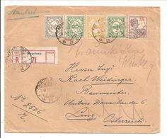 Aangetekend  MAGELANG>LINZ>TRAUNKIRCHEN 1931 - Netherlands Indies
