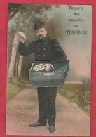 Tournai - Le Facteur Vous Apporte Des Nouvelles De ... - Jolie Carte à Système- Feldpost 1915 ( Voir Verso ) - Tournai