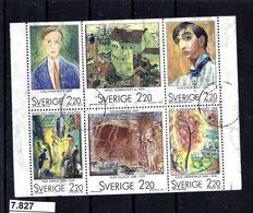 7827 ## S  1988  S Siehe Scan, Denn Bilder Sagen Mehr Als Eine Beschreibung, O/used   1 ZDR  1485/90  Preisgünstig - Schweden