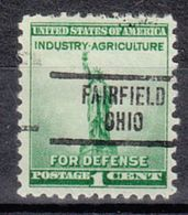 USA Precancel Vorausentwertung Preo, Locals Ohio, Fairfield 734 - Vereinigte Staaten