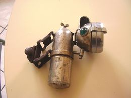 Lampe Velo Carbure Acetylene Luxor... Cycles - Transports