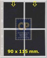 FOGLI UNI X CARTOLINE - 4 Spazi Apertura Alta - VENDITA Da 20 FOGLI - Materiali