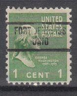 USA Precancel Vorausentwertung Preo, Locals Ohio, Fort Jennings 734 - Vereinigte Staaten
