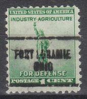 USA Precancel Vorausentwertung Preo, Locals Ohio, Fort Loramie 704 - Vereinigte Staaten