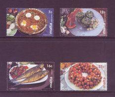 Malta 2002 - Cucina, Piatti Tipici, 4v Usati - Malta