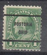 USA Precancel Vorausentwertung Preo, Bureau Ohio, Fosteria 632-61 - Vereinigte Staaten