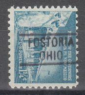 USA Precancel Vorausentwertung Preo, Locals Ohio, Fosteria 819 - Vereinigte Staaten