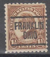 USA Precancel Vorausentwertung Preo, Locals Ohio, Franklin 582-217 - Vereinigte Staaten
