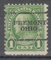 USA Precancel Vorausentwertung Preo, Locals Ohio, Fremont 632-L-6 TS - Vereinigte Staaten